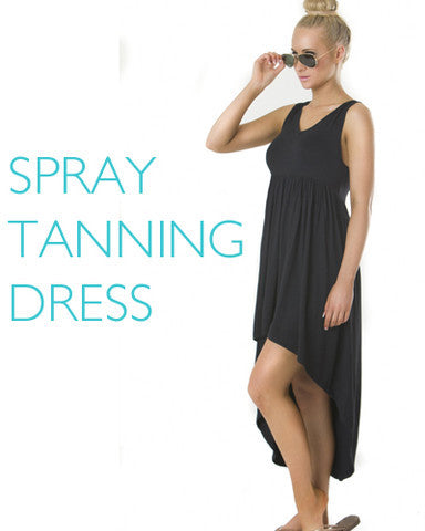 Spray Tanning Dress - Custom Tan - 3