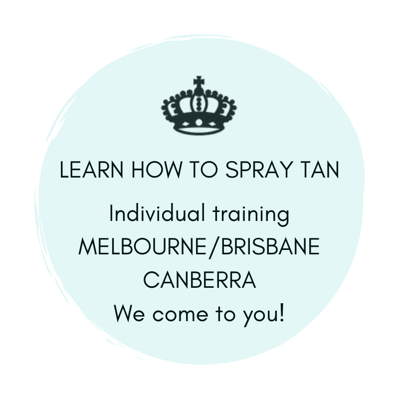 Learn How to Spray Tan MELBOURNE, BRISBANE, CANBERRA - Individual Training We come to you