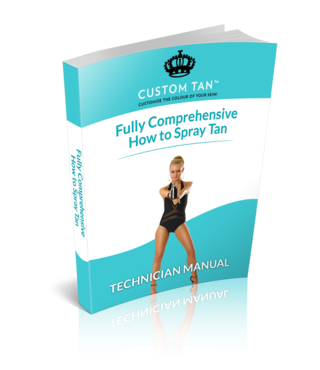 Learn How to Spray Tan E-Book - Custom Tan - 4
