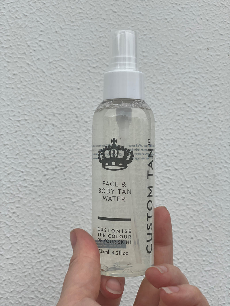 Face & Body Tan Water