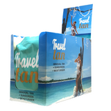 Travel Tan - Gradual Tanning Moisturiser PLUS Sunscreen 15 PACK - Custom Tan - 1