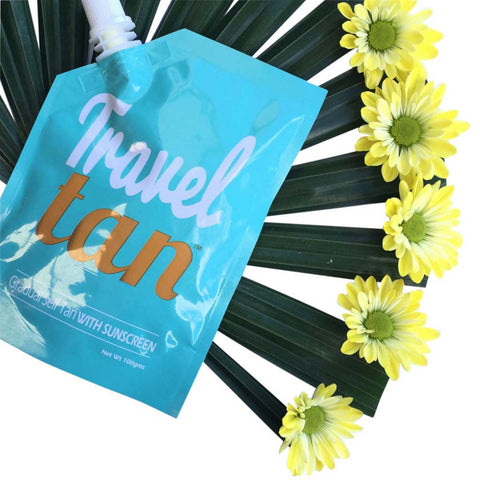 Travel Tan - Gradual Tanning Moisturiser PLUS Sunscreen WHOLESALE 25 Pack