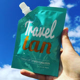 Travel Tan - Gradual Tanning Moisturiser PLUS Sunscreen 15 PACK - Custom Tan - 13