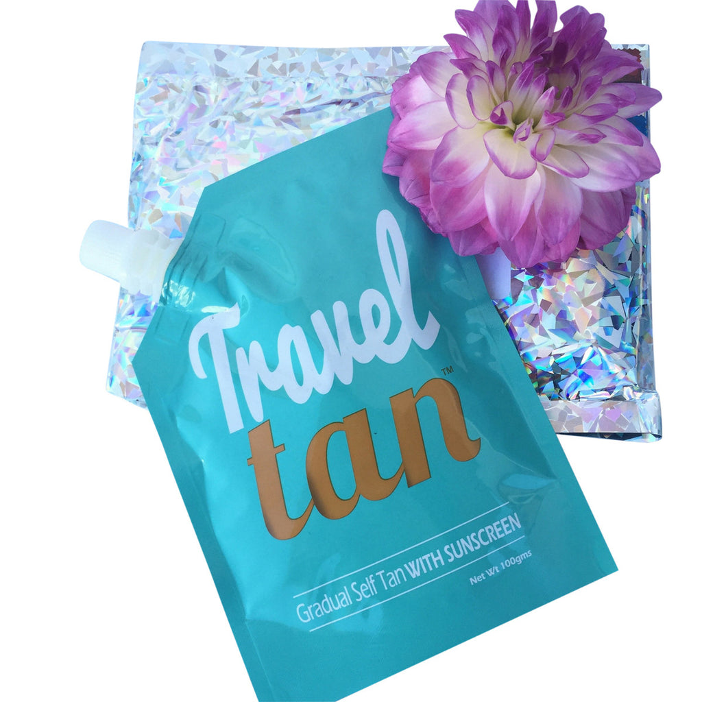 Travel Tan - Gradual Tanning Moisturiser PLUS Sunscreen WHOLESALE 25 Pack - Custom Tan - 1