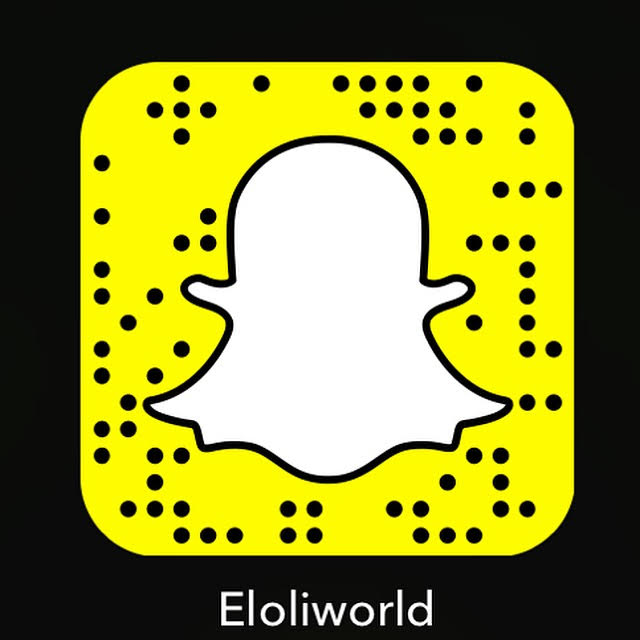 follow Eloli on snapchat for a behind the scenes view of fashion, inspiration and more