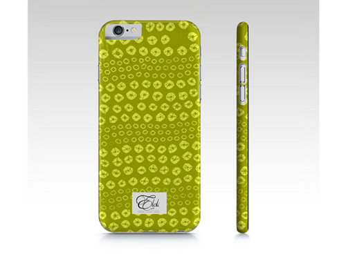 Yellow print  phonecase iPhone | Samsung Galaxy