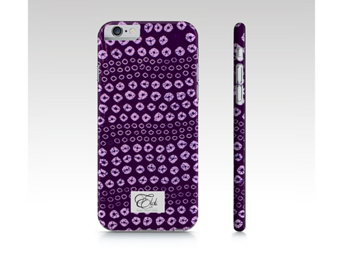 Purple print  phonecase iPhone | Samsung Galaxy