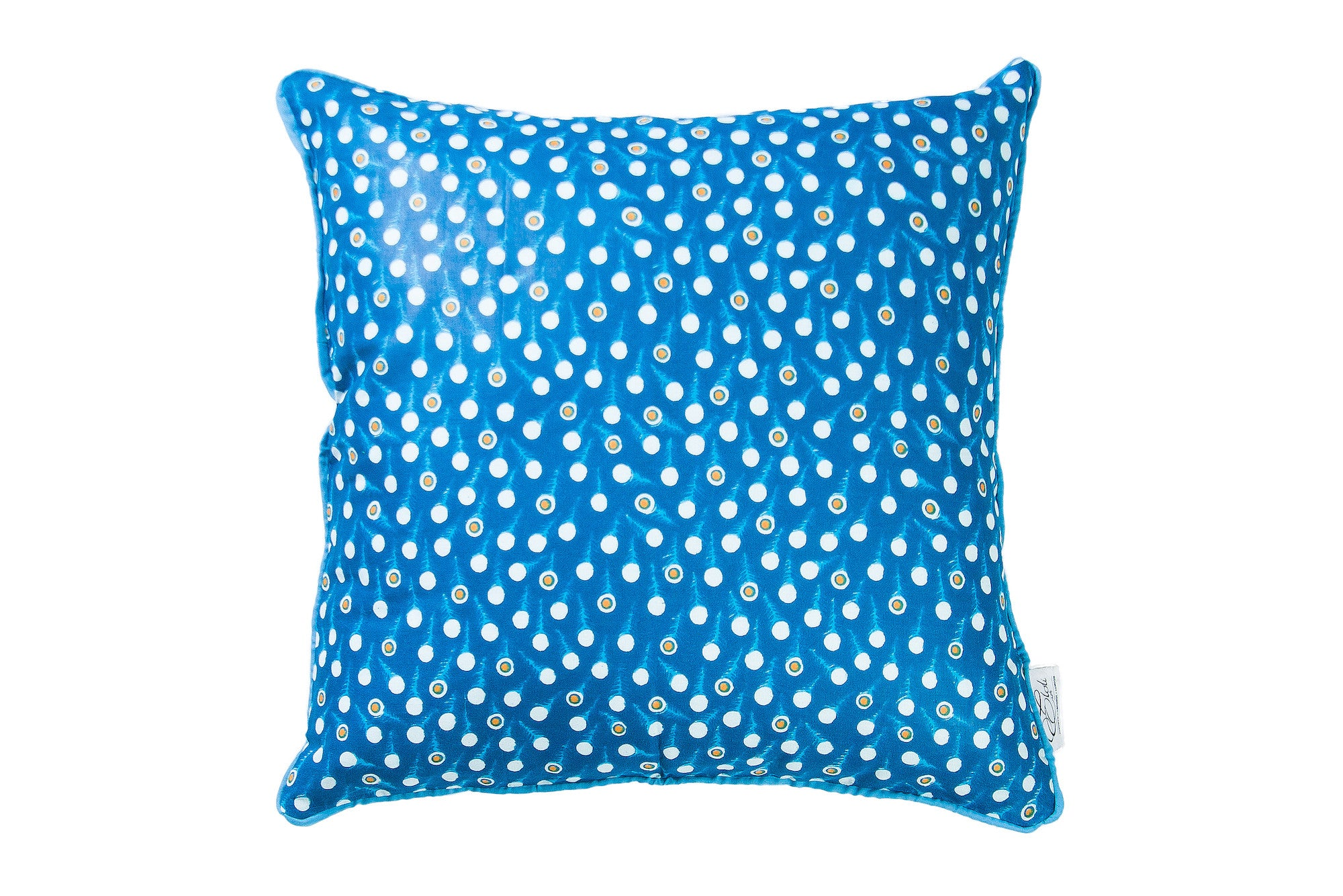 Blue Wax print Cushion Cover