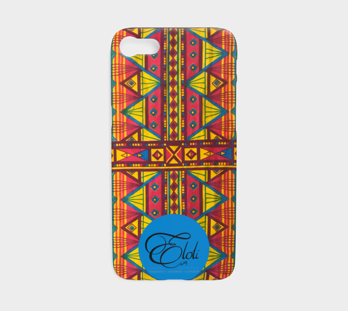 on sale de285 f6eb4 Yellow & Pink Geo African print phone case iPhone | Samsung Galaxy