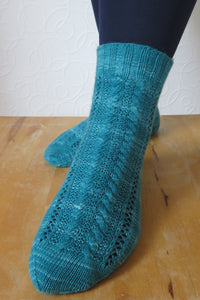 Sleepover Socks - PDF Pattern Download