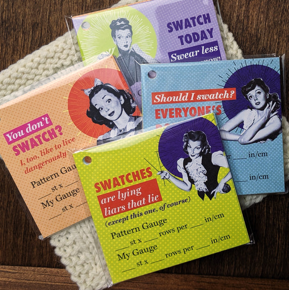 Bad Betty Knits - Swatch Cards