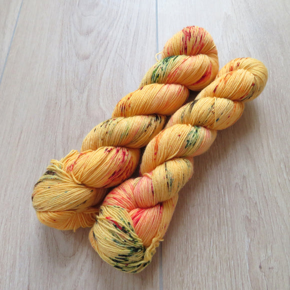 Mexican Marigold – Smooth Sock