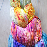 Neon Fade Set -  Colourful Smooth Sock Kitten Set