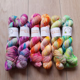 Peacock Paradise – Smooth Sock