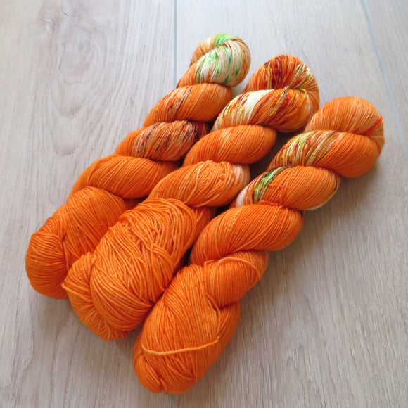 Pumpkin Season – Smooth Sock