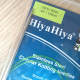 100cm - Hiyahiya circular knitting needles