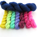 Urban Ballerina -  Colourful Smooth Sock Kitten Set