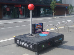 vodafone street arcade joystick plain and simple