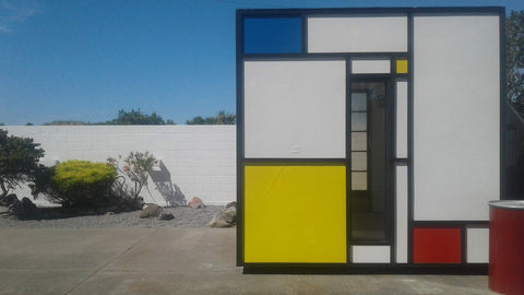 mondrian home office