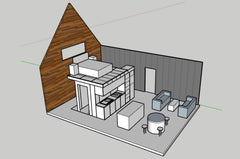 50m2 concept small house designed by plain and simple nz