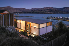 lyttelton landing at night in Christchurch