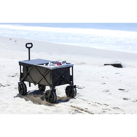 Adventure Wagon Elite Collapsible Beach Cart