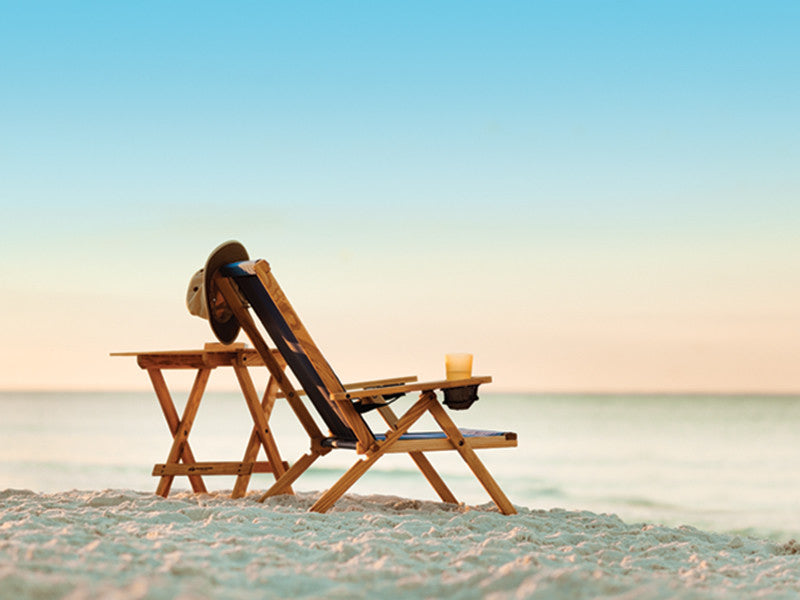 Outer Banks chair at the beach
