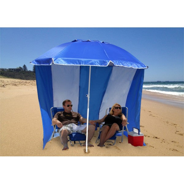 Beach Umbrella Cabana Windscreen - NEW