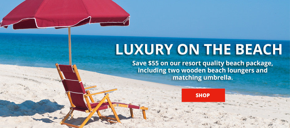 Savings on beach gear