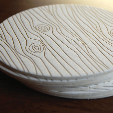 Wood Grain coaster