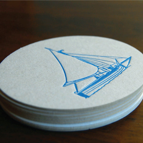 Blue Sail Coaster