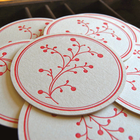 Red Berry Coaster