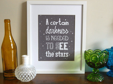 See The Stars Art Print 8 x 10 size