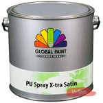 PU Spray X-tra Satin RAL 7021
