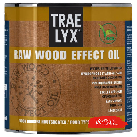 Trae-Lyx Raw Wood Effect Oil Donkerhout