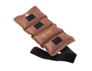 The Cuff Deluxe Ankle and Wrist Weight - 10 lb - Brown - onlinesportsmall