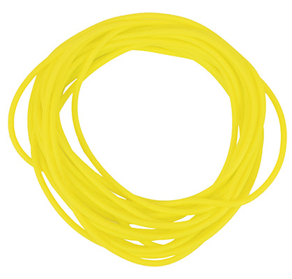 CanDo Latex Free Exercise Tubing - 25' roll - Yellow - x-light - onlinesportsmall