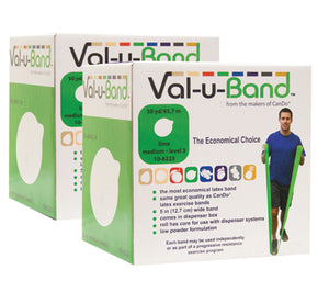 Val-u-Band - Low Powder - Twin-Pak - 100 yard (2 - 50 yard boxes) - lime (level 3/7) - onlinesportsmall