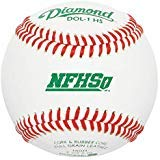Diamond Dol-1 Nfhs Official League Leather Baseballs 12 Ball Pack - onlinesportsmall