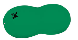 "CanDo Inflatable Exercise Saddle Roll - Green - 24"" Dia x 43"" L (60 cm Dia x 110 cm L) - onlinesportsmall"