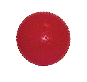 "CanDo Inflatable Exercise Ball - Sensi-Ball - Red - 30"" (75 cm) - onlinesportsmall"