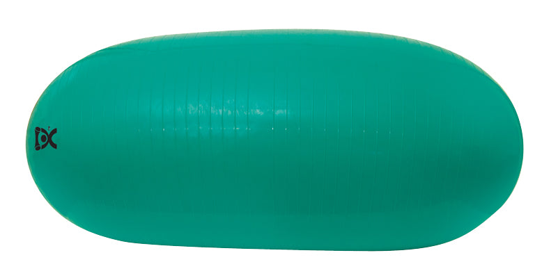 "CanDo Inflatable Exercise Straight Roll - Green - 24"" Dia x 53"" L (60 cm Dia x 110 cm L) - onlinesportsmall"