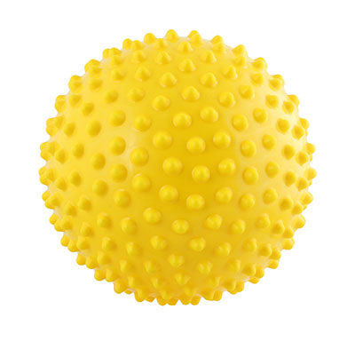 Massage ball, 10 cm (4.0 inches), Blue - onlinesportsmall