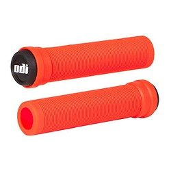 ODI Soft Longneck Flangeless Fire Red Bicycle Grips - onlinesportsmall