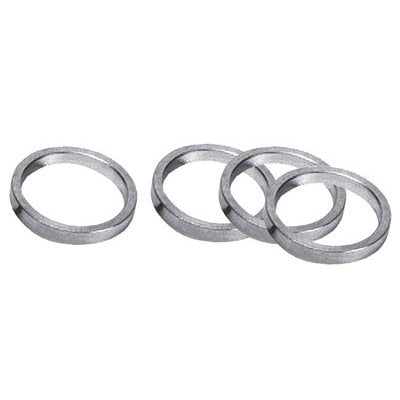 Khs Ultracycle H/Set Spacer,1X5Mm,Sil 6061 Alum,10 Per Bag - onlinesportsmall