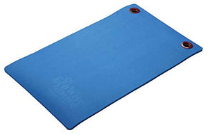 "Elite Workout Mat w/eyelets, 1/2"" x 20"" x 48"" - Blue - onlinesportsmall"