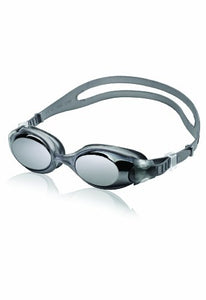 Speedo Hydrosity Mirrored Swim Goggle, Charcoal, One Size - onlinesportsmall