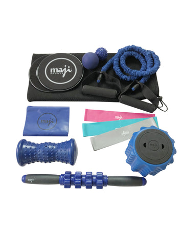 Travel Fitness & Muscle Recovery Combo Set - onlinesportsmall