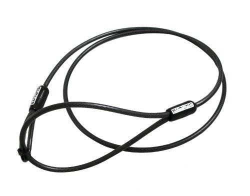 Sunlite Bike Leash Cable Only, 2'6  x 3mm, Black - onlinesportsmall