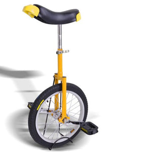 18 Inch Wheel Unicycle (Yellow) - onlinesportsmall